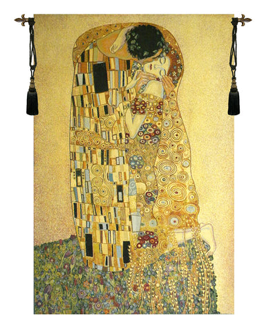 The Kiss Italian Wall Tapestry - Tapestry Zest