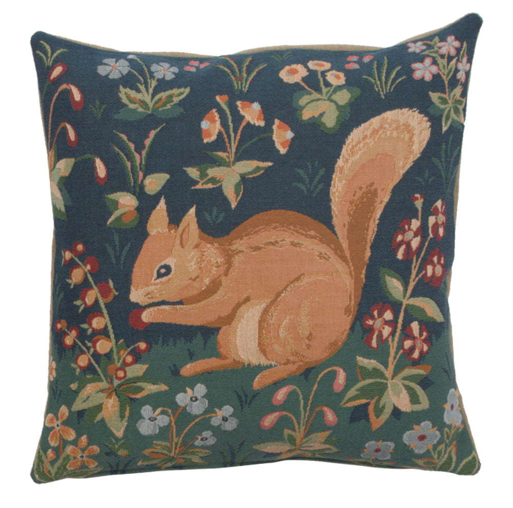 Tree Squirrel French Cushion Cover