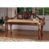 The Verona Filigree Bench - Tapestry Zest