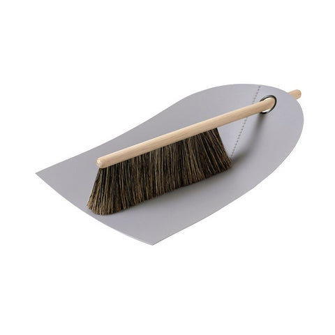 Utensils Dustpan & Broom: Light Grey - The Union Project