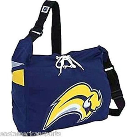 Buffalo Sabres MVP NHL Jersey Messenger Purse Tote Bag Shoelace Books Laptop