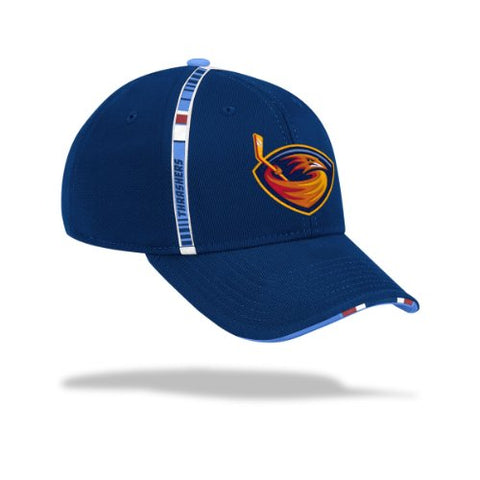 Atlanta Thrashers Navy 2010-2011 Official Team Practice Flex Fit Hat