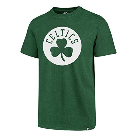 '47 Boston Celtics NBA Brand Green Imprint Club Tee T Shirt Adult Men's