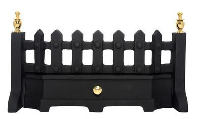 "Style 18"" Black with Brass Finials - Flying Dutchman Stores"