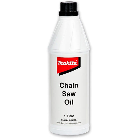 chainsaws oil
