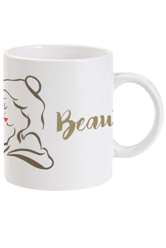 Beauty and the Beast. Beauty. Beast 2 x Mug Set