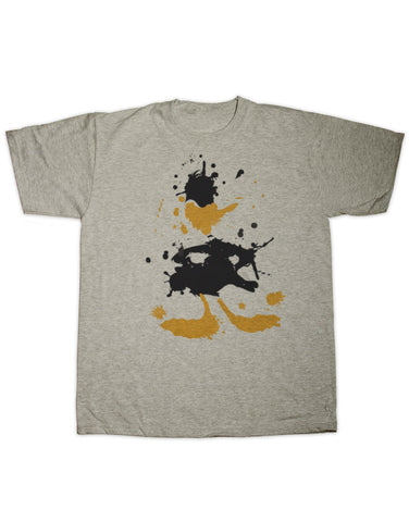 Daffy Duck Splatter Print T Shirt