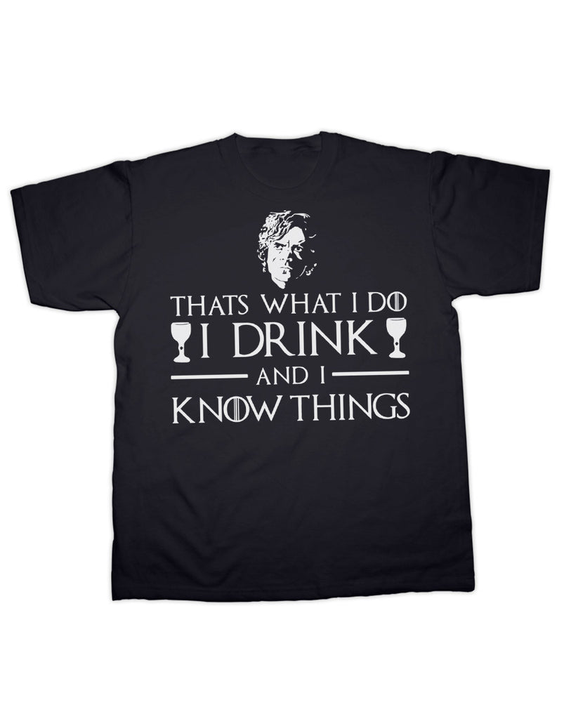 Game of Thrones I Drink T Shirt