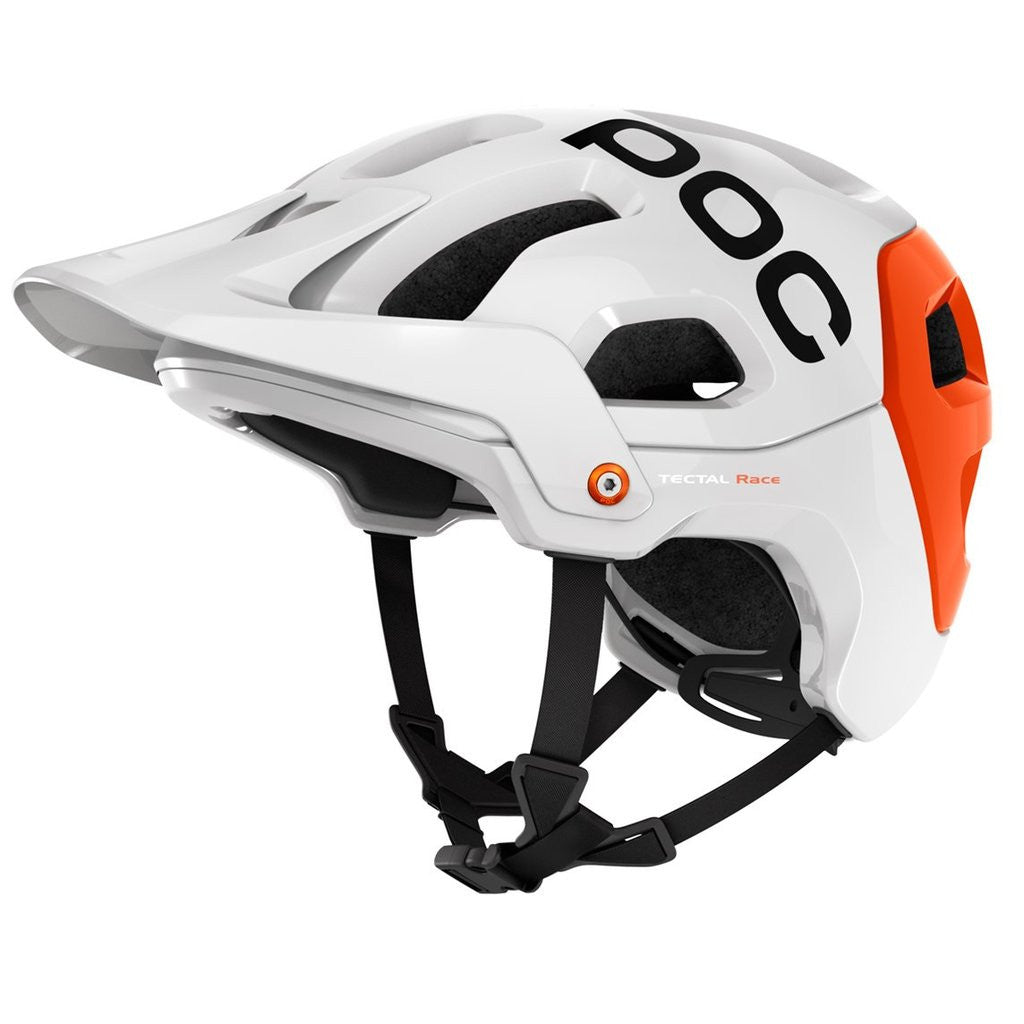 POC Tectal Race Mountain Bike Helmet - White