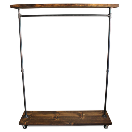 IRS Single Shelf - Industrial Clothes Rack