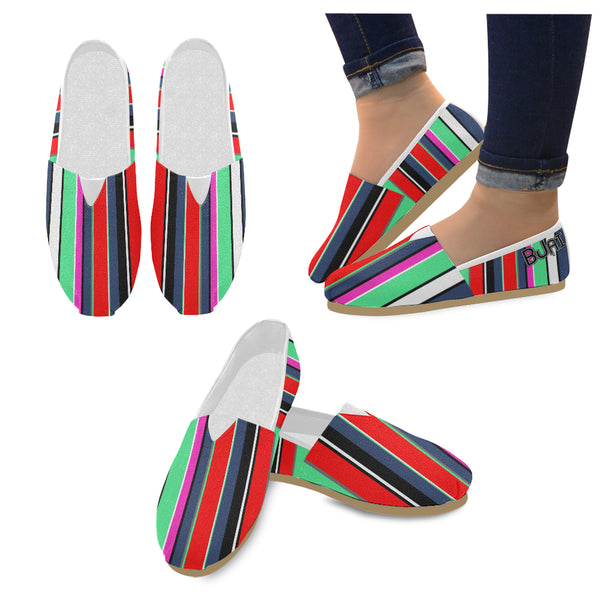 BJai Striped Unisex Casual Shoes