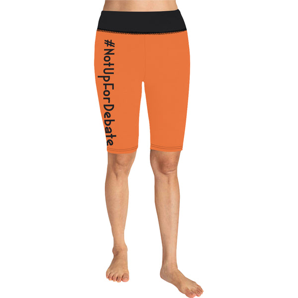 BJai Nufd Orange Knee Length Leggings