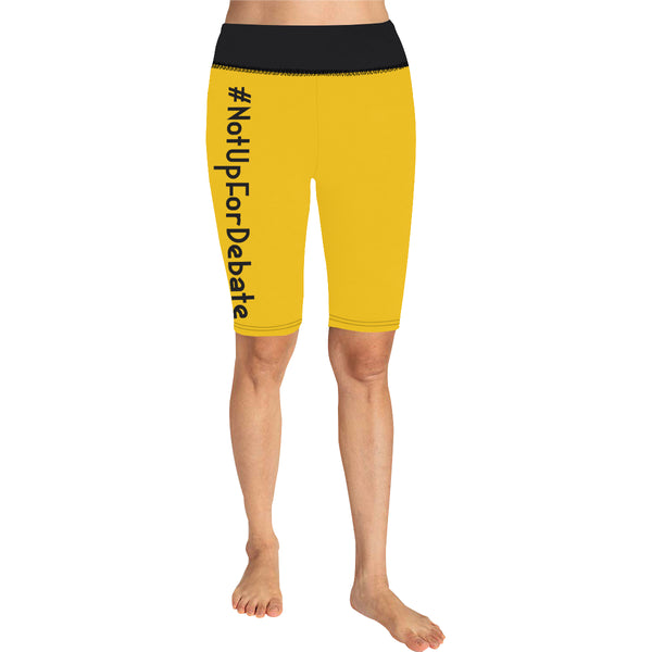 BJai Nufd Yellow Knee Length Leggings