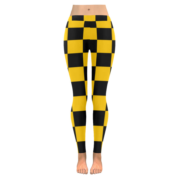 BJai Checkered Yellow Low Rise