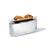 Toaster with Bun Warmer by Alessi