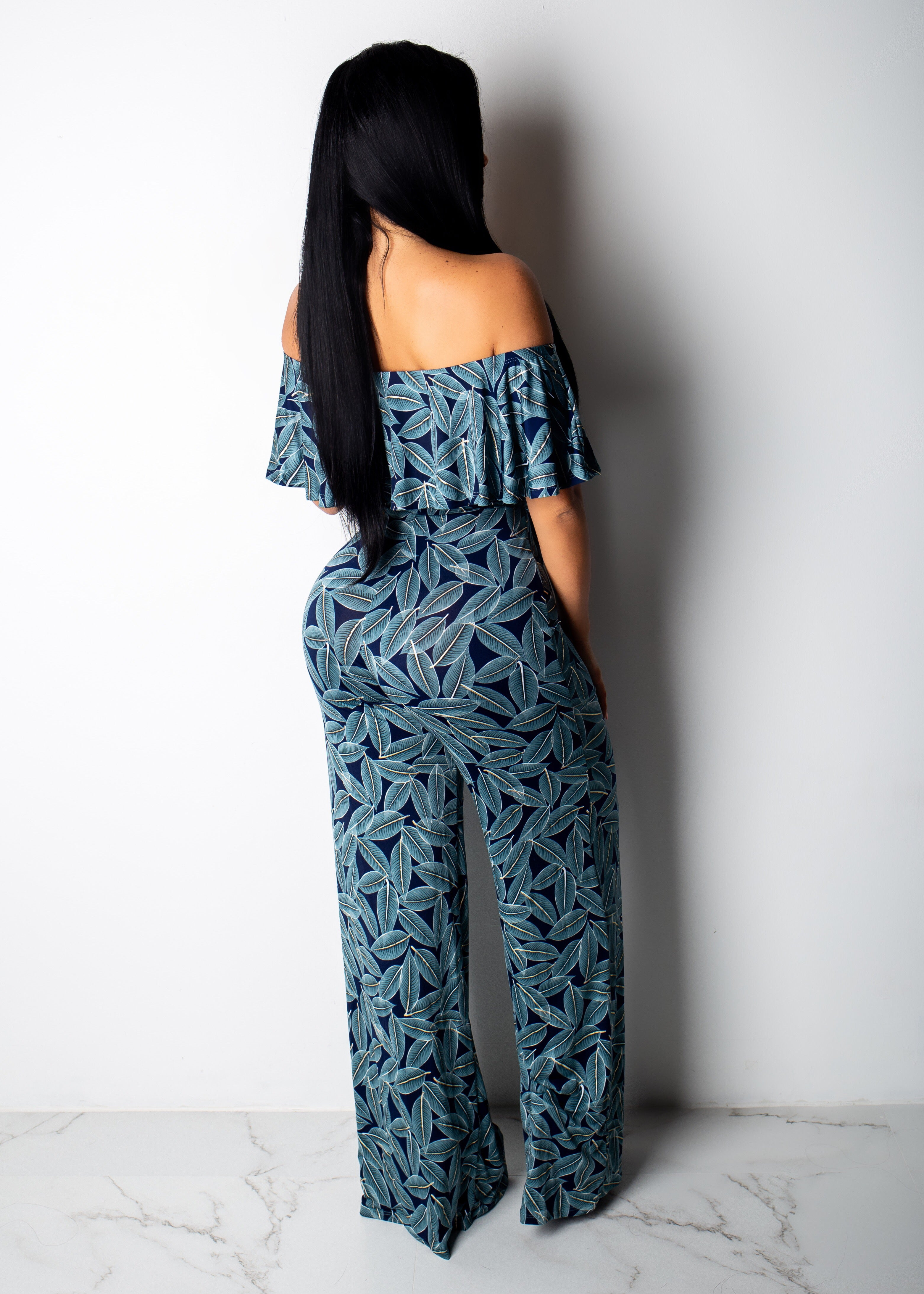 Beautiful Leaves Jumpsuit