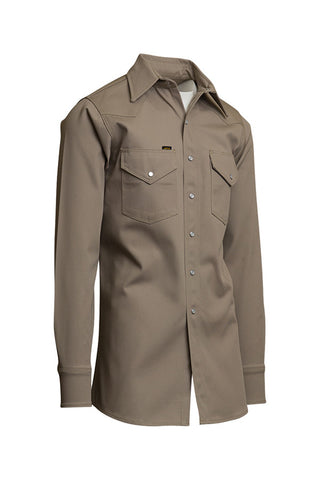 Khaki welding shirts long sleeve