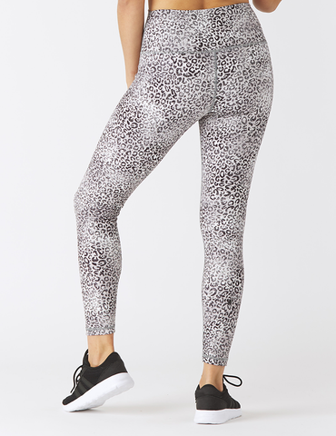 High Power Legging Print: Snow Leopard - Online Only
