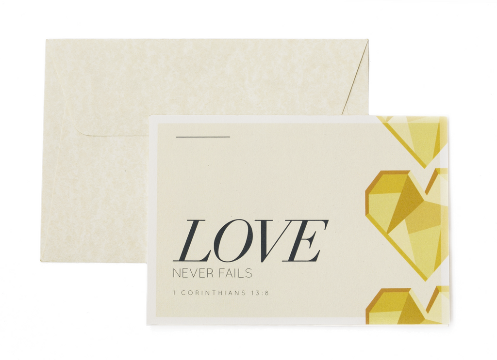 Card Set - Love Never Fails