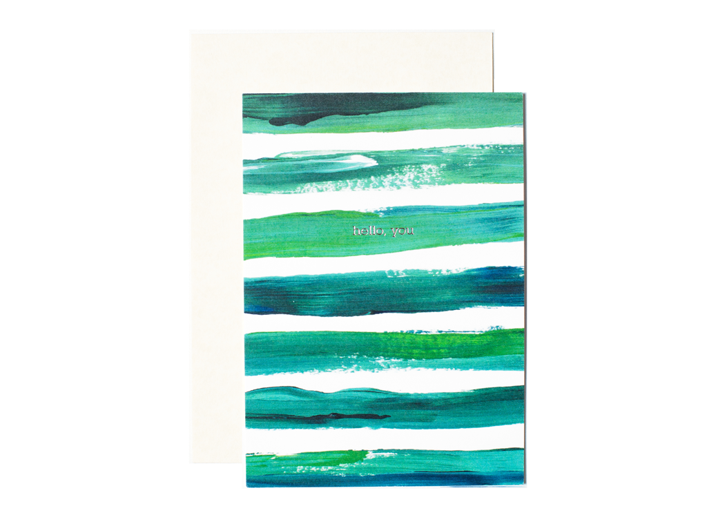Brushstrokes in Jade