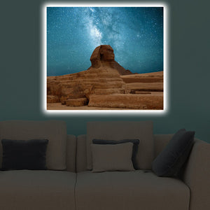Home - LED Canvas || Sphinx (40x60cm)
