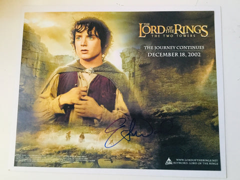 Lord of the Rings Elijah Wood Rare Signed Photo with COA