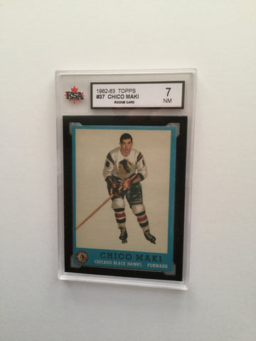 Chico Maki rookie rare high graded hockey card