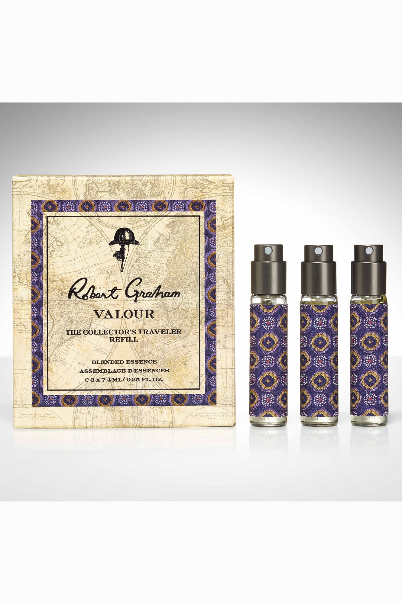 TRAVELER SET REFILL ROBERT GRAHAM ESSENCE VALOR