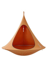 single orange cacoon swing
