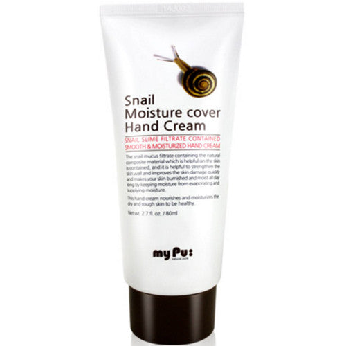 MY PU Snail Moisture Cover Hand Cream 80ml