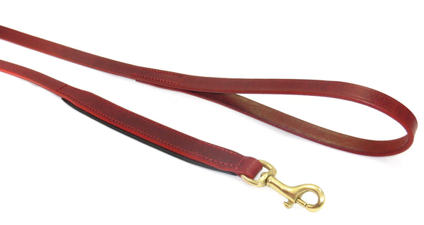 The Vintage Collection Leash (Claret Red)