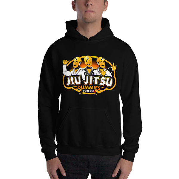 Jiu Jitsu Dummies Podcast Hooded Sweatshirt