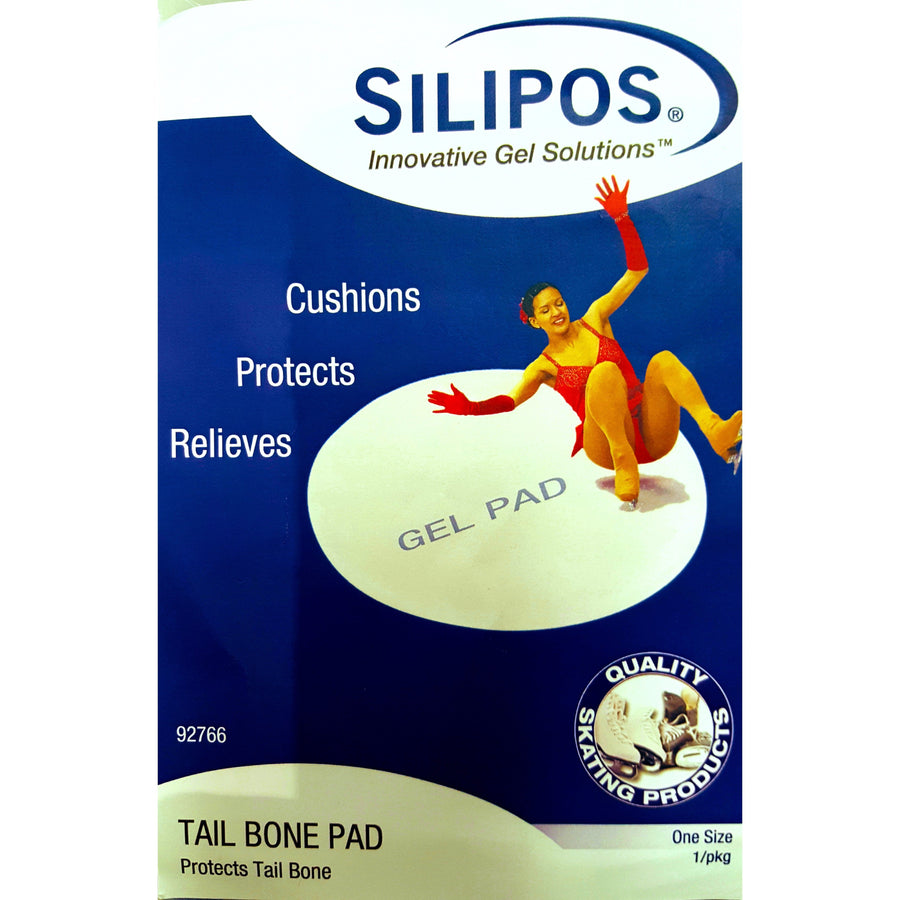 Figure Skating Tail Bone Protector Gel Disc Silipos