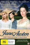 Jane Austen By Robin Swicord Collector's Edition DVD 2010 4-Disc Box Set PAL NEW-DVDs & Movies DVDs & Blu-ray Discs-1000 Things Australia