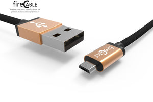 fireCable | Replacement Power Cable (extended size, 6')