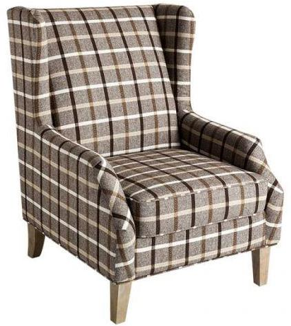 Accent Chair - Brown Stripes