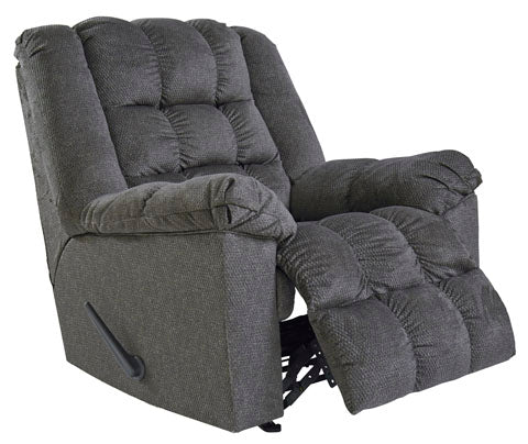 Drakestone Rocker Recliner - 2 Colors - Message & Heat