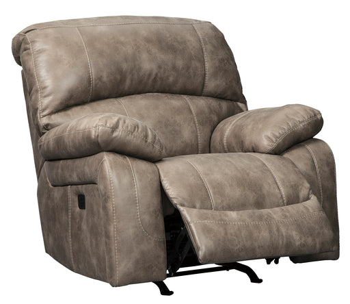 Dunwell - Power Rocker Recliner w/ Adjustable Headrest in 2 Colors