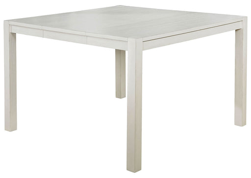 Glenfield Counter Height Table- Weathered White
