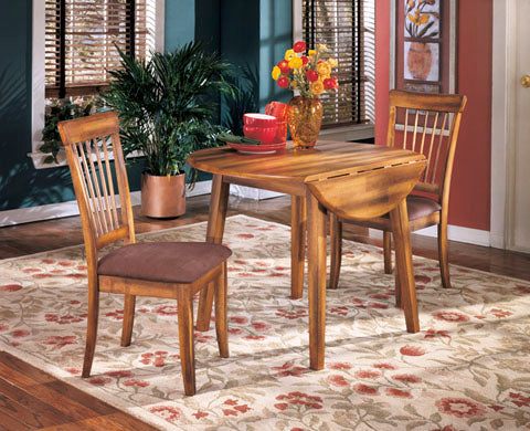 Berringer Drop Leaf Dining Set - Dining Height