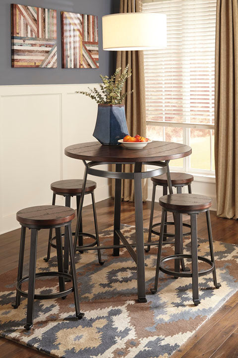 Challiman Dining Set - Counter Height