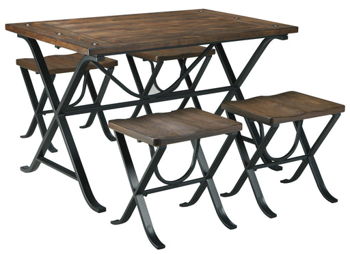 Freimore 5 Piece Dining Set