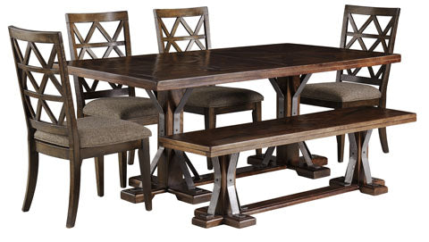 Devasheen Dining Set - Dining Height