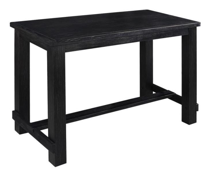 Jacinto Bar Table - Antique Black