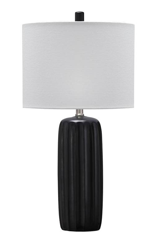 Adorlee - Black - Ceramic Table Lamp (2/CN)
