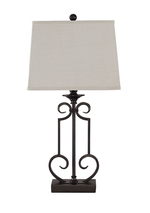 Ainslie - Bronze - Metal Table Lamp (2/CN)