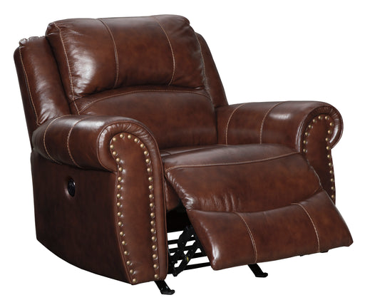 Bingen - Rocker Recliner - Genuine Leather - Optional Power