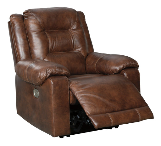 Golstone - Power Recliner w/ Adjustable Headrest - Genuine Leather