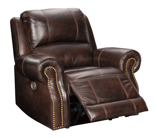 Buncrana - Power Recliner w/ Adjustable Headrest - Genuine Leather