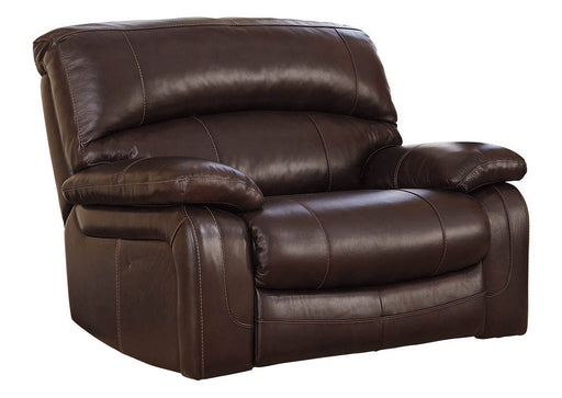 Damacio - Zero Wall Wide Seat Recliner - Genuine Leather - Optional Power